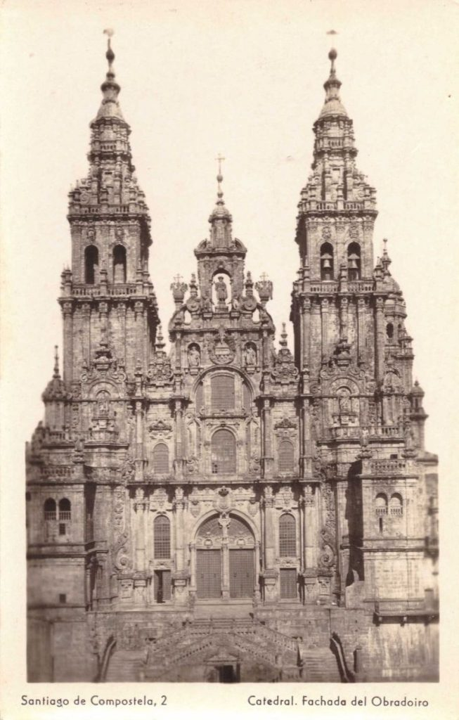 собор Сантьяго да Компостела